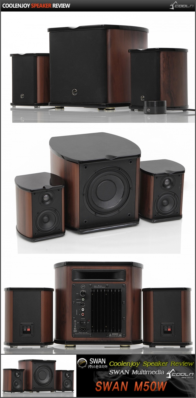 Swan M50w Dpg Swans Hivi Multimedia 21 Speaker Pc 2