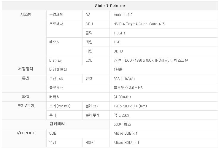 HP 슬레이트 익스트림7 태블릿 Slate Extreme7 Tablet 테그라4 태블릿-02-1.png