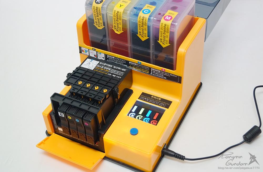 오병이어 AIR 950 모터펌프 자동 잉크충전기 HP 오피스젯 6700 프린터 잉크 충전 -080.jpg