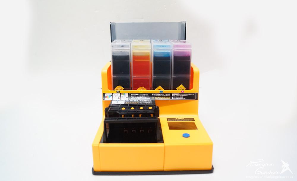 오병이어 AIR 950 모터펌프 자동 잉크충전기 HP 오피스젯 6700 프린터 잉크 충전 -013.jpg