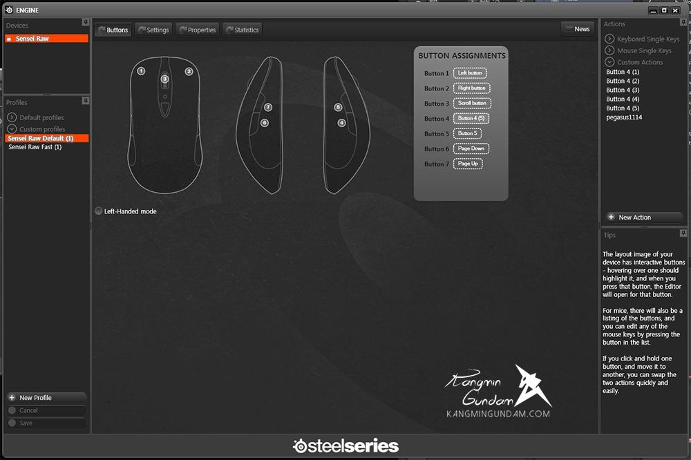스틸시리즈 센세이 로우 프로스트 블루 게이밍마우스 Steelseries Sensei Raw Frost Blue FPS마우스 사용 후기 -053.jpg