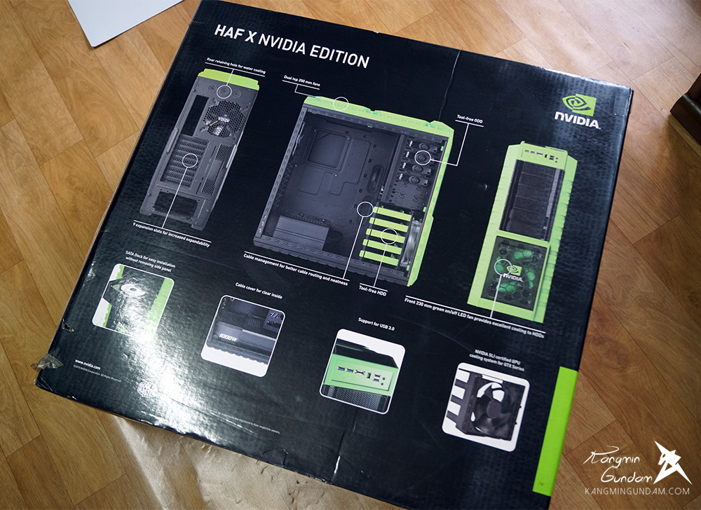 쿨러마스터 HAF X NVIDIA EDITION 빅타워 케이스 coolermaster 사용 후기 -03.jpg