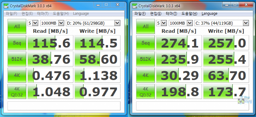 PLEXTOR 플렉스터 M6S SSD SATA3 벤치마크 (8).jpg