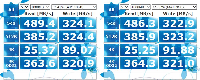 PLEXTOR 플렉스터 M6S SSD SATA3 벤치마크 (3)-1.jpg