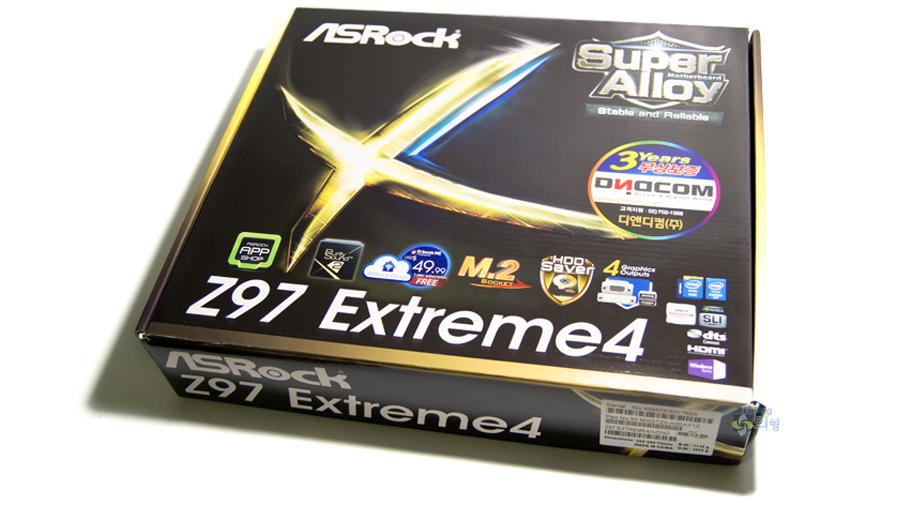 ASRock Z97 Extreme4 디앤디컴 메인보드 개봉기 (1).jpg