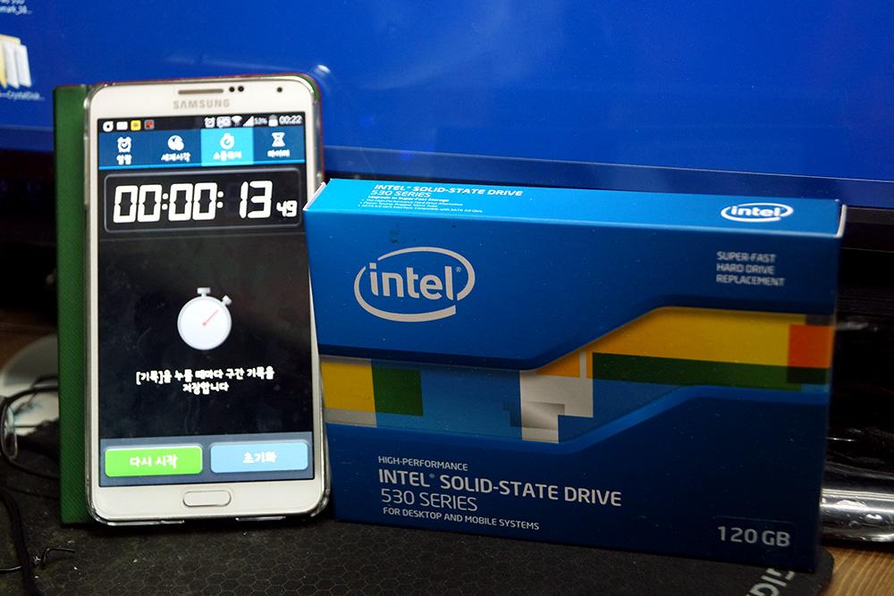 인텔 SSD 530시리즈 INTEL 530series 개봉기 사용 후기 부팅 속도 98.jpg