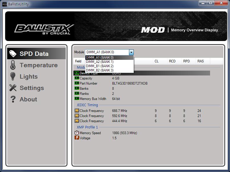크루셜 발리스틱 택티칼 트레이서 메모리 램 마이크론 Crucial BallistiX Tactical Tracer DDR3 8G PC3 14900 CL9 50.jpg