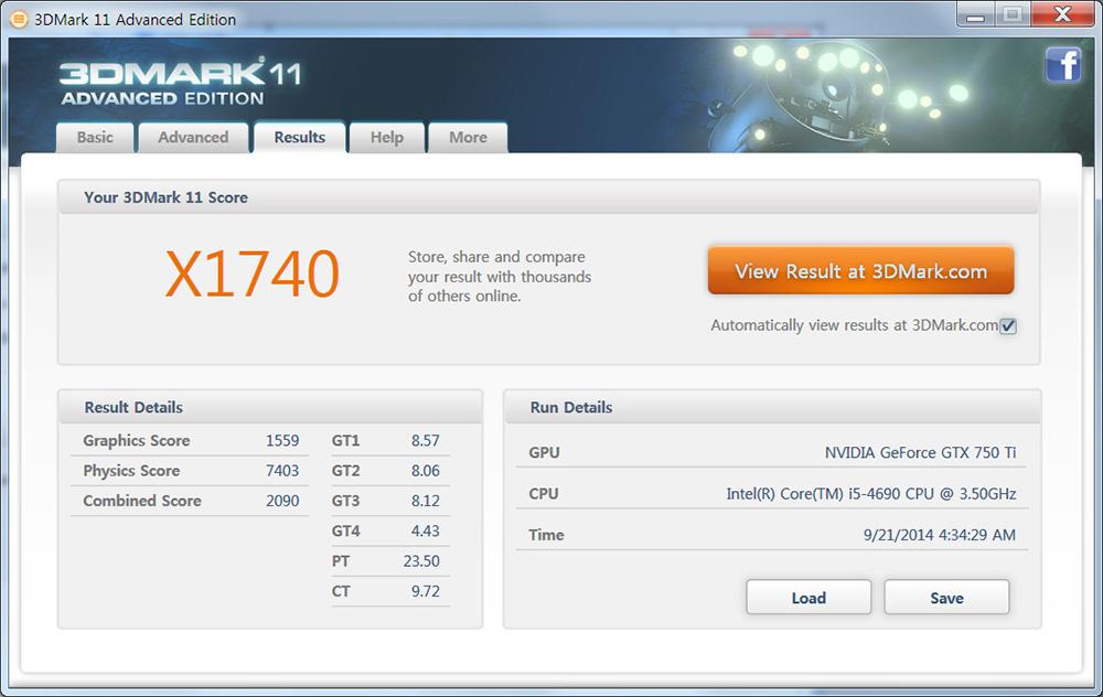 중급 그래픽카드 조텍 GTX750 Ti D5 1GB ZOTAC 벤치마크 사용 후기 132.jpg