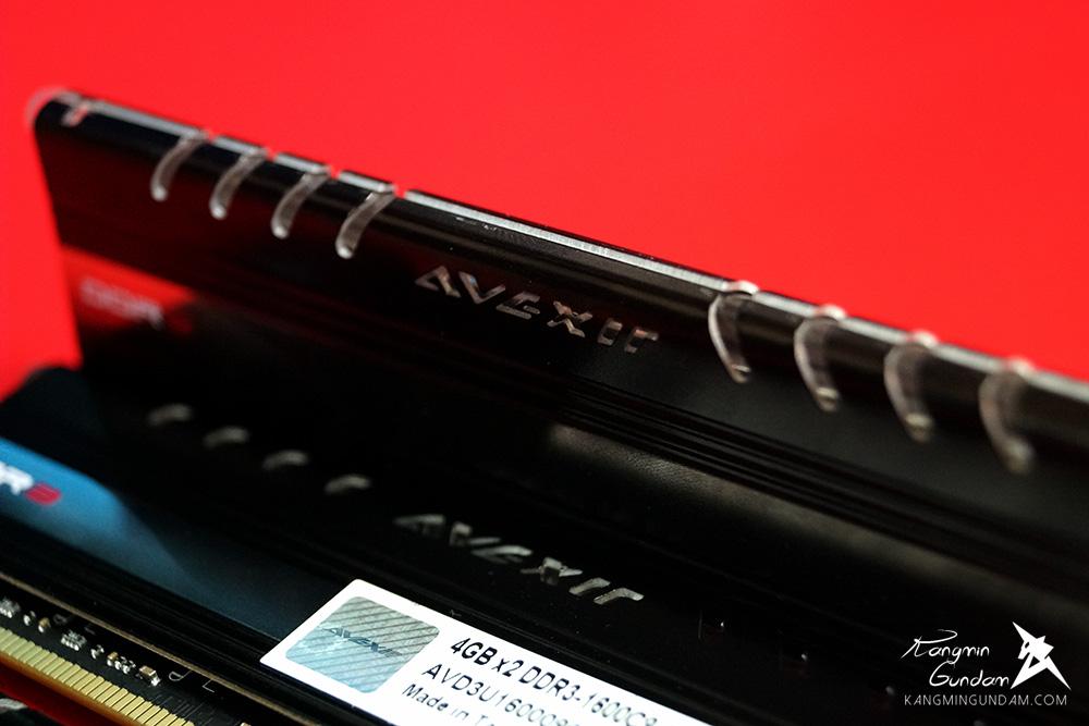 AVEXIR DDR3 8G PC3-12800 CL9 CORE Series 아벡시아 코어 시리즈 LED 튜닝 램 화이트 사용 후기 14.jpg
