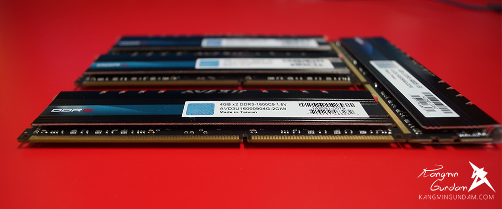 AVEXIR DDR3 8G PC3-12800 CL9 CORE Series 아벡시아 코어 시리즈 LED 튜닝 램 화이트 사용 후기 18.jpg