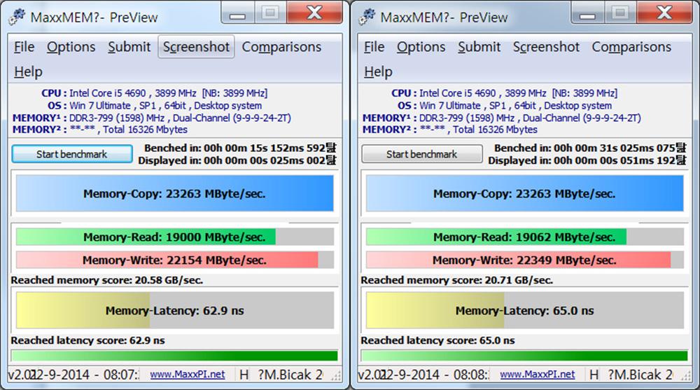 AVEXIR DDR3 8G PC3-12800 CL9 CORE Series 아벡시아 코어 시리즈 LED 튜닝 램 화이트 사용 후기 35.jpg