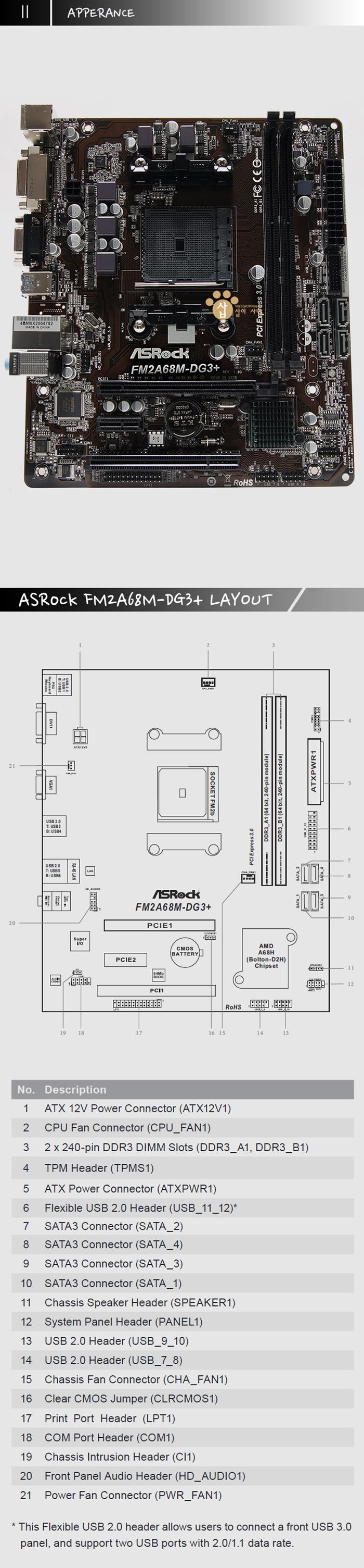 AMD외형 ASROCK FM2A68M-DG3+ 메인보드.jpg