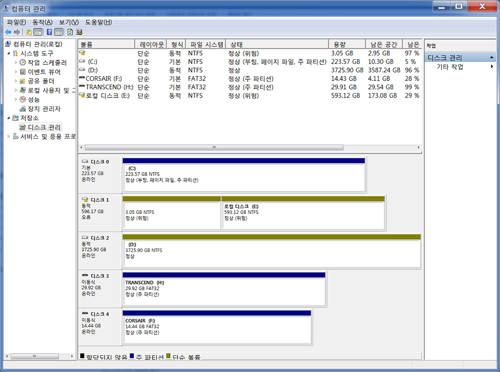 NAS용 히타치 4TB 하드디스크 사용기 HGST HDN724040ALE640 -22-0.jpg