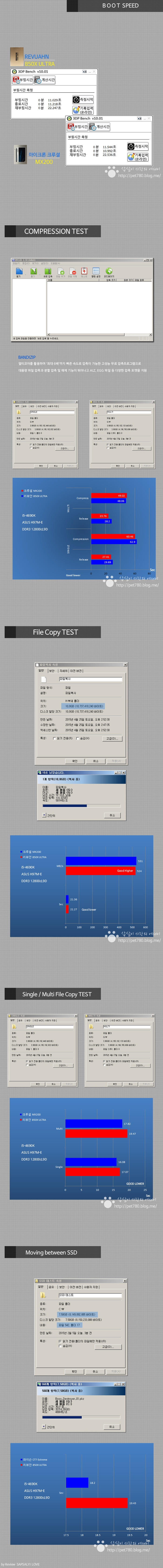 리뷰안 850X ULTRA (울트라) 성능2 SLC 낸드 플래시 SSD 추천.jpg