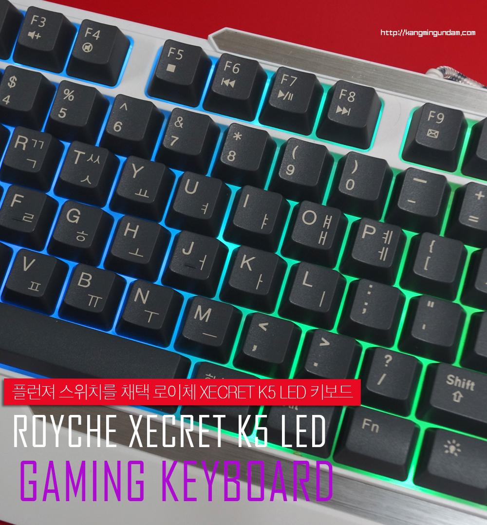 로이체 Royche Xecret K5 LED 키보드 -01.jpg