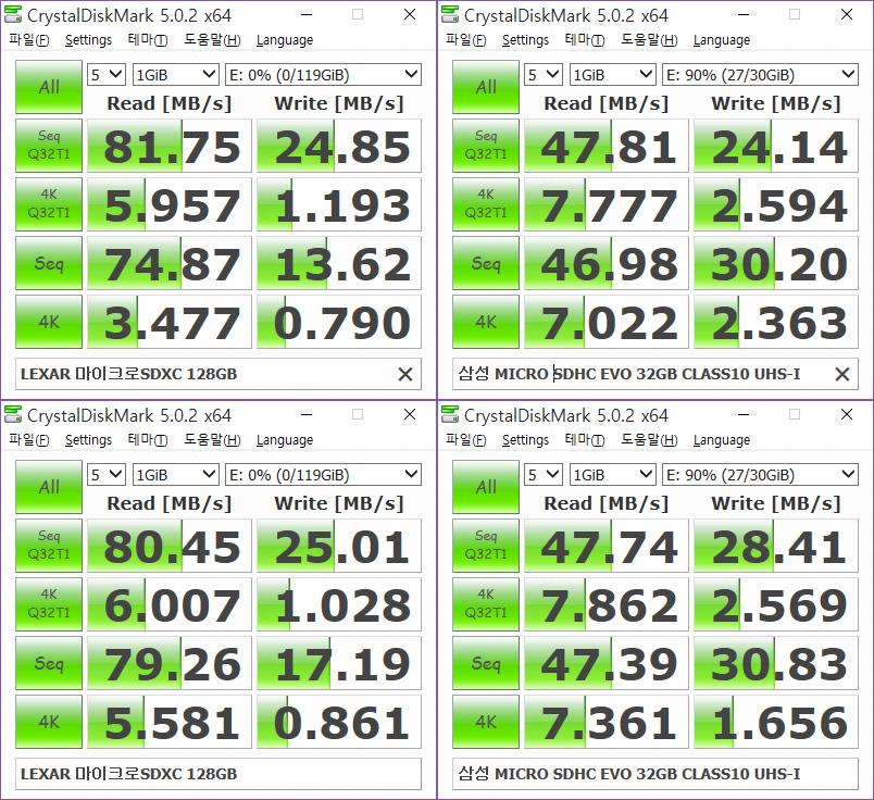 LEXAR 마이크로SDXC 128GB (렉사 마이크로SD카드) 사용 후기 -23.jpg
