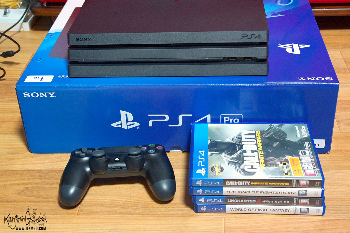 플스4 프로 PS4 프로 구매 후기 예약 4K 모니터 -46.jpg