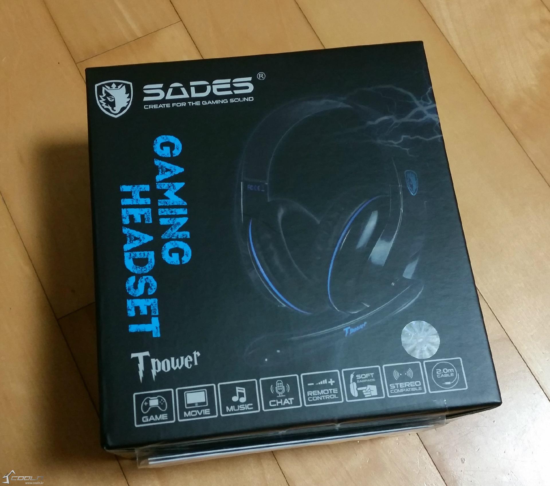 Sades Sa 701 Tpower Dpg T Power Gaming Headset