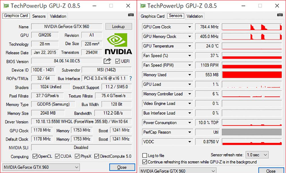 MSI 지포스 GTX960 OC D5 2GB 미니 아머 그래픽카드 사용기 -53.jpg