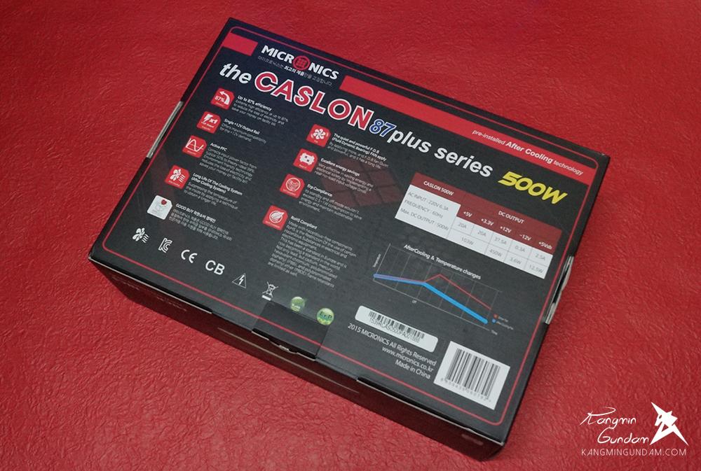 잔열까지 식히는 마이크로닉스 CASLON 500W 87+ FDB 파워 추천 -10.jpg