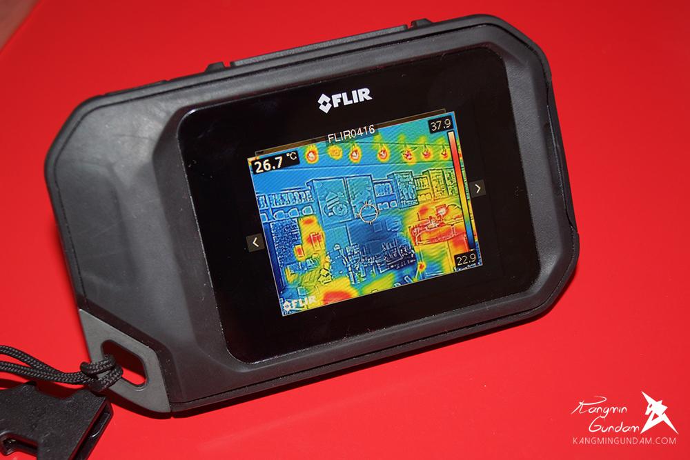 작은 컴팩트휴대용 열화상카메라 누수감지 플리어 FLIR C2 사용기 -46.jpg