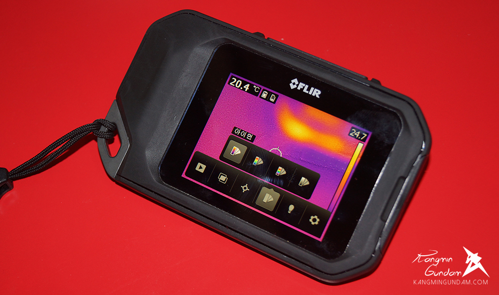 작은 컴팩트휴대용 열화상카메라 누수감지 플리어 FLIR C2 사용기 -64.jpg