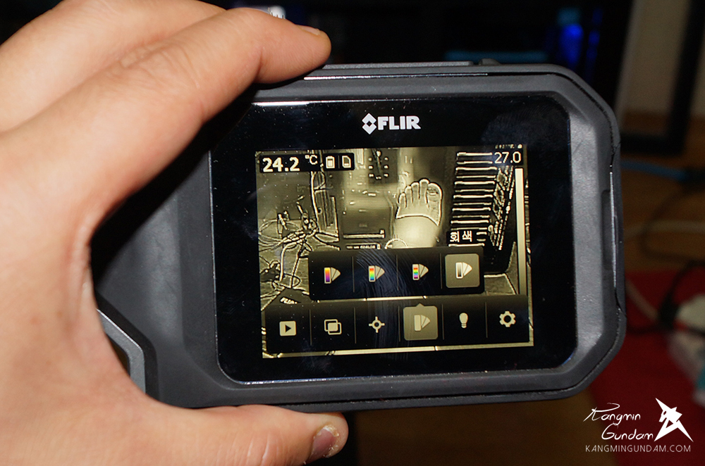작은 컴팩트휴대용 열화상카메라 누수감지 플리어 FLIR C2 사용기 -75.jpg