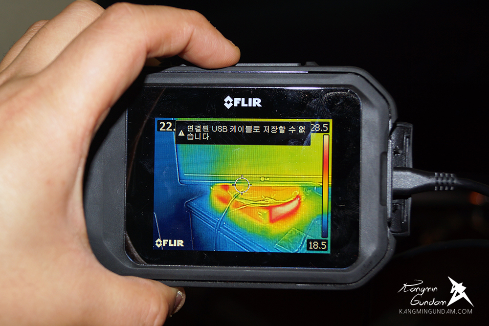 작은 컴팩트휴대용 열화상카메라 누수감지 플리어 FLIR C2 사용기 -83.jpg