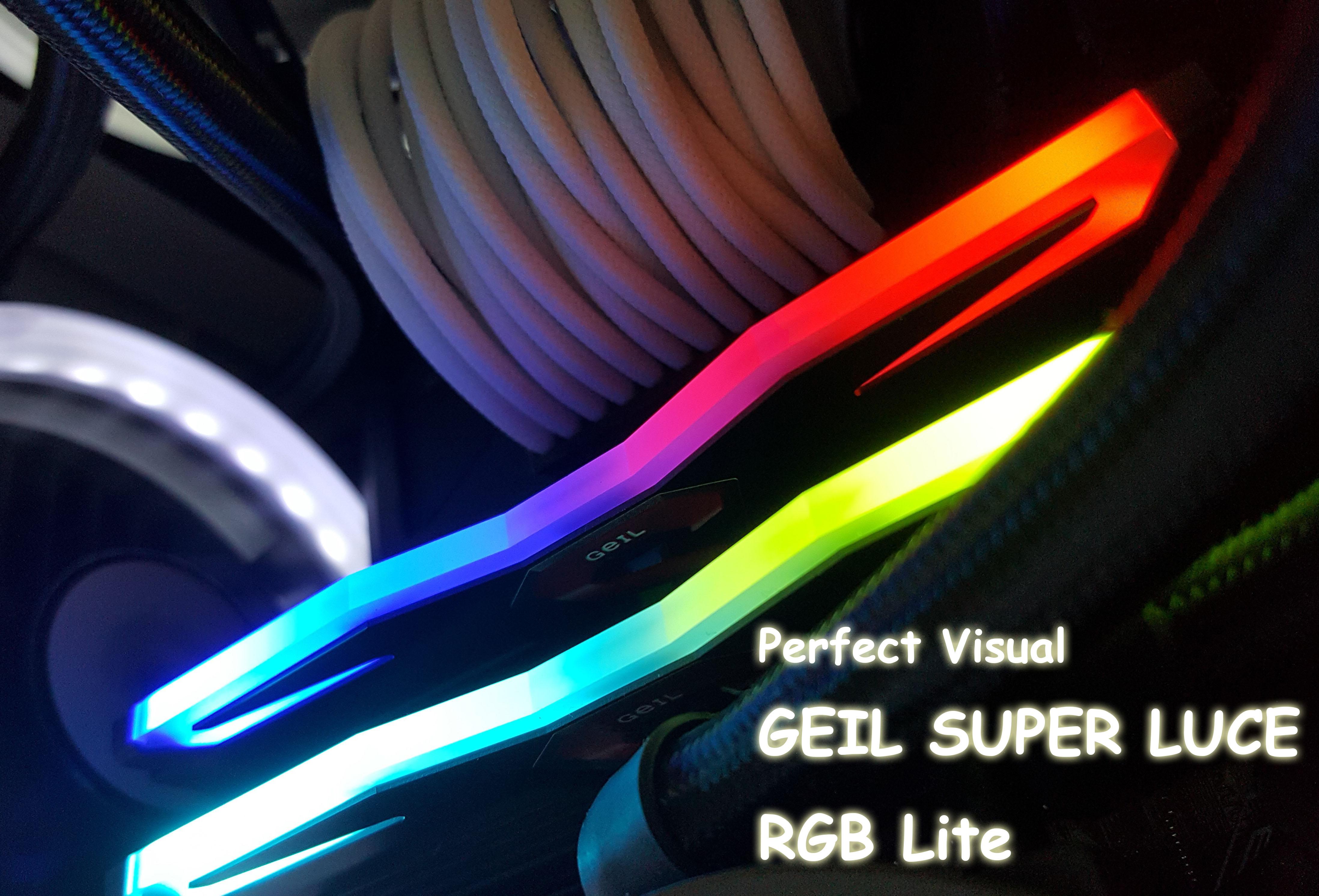 Perfect Visual - Geil Super Luce RGB Lite