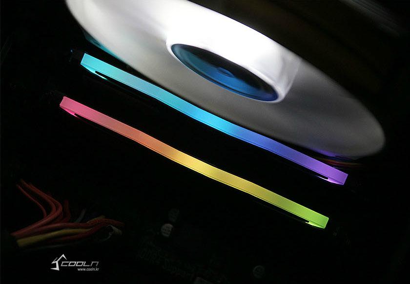 GeIL DDR4 8G PC4-19200 CL17 SUPER LUCE RGB Sync 블랙 사용기.
