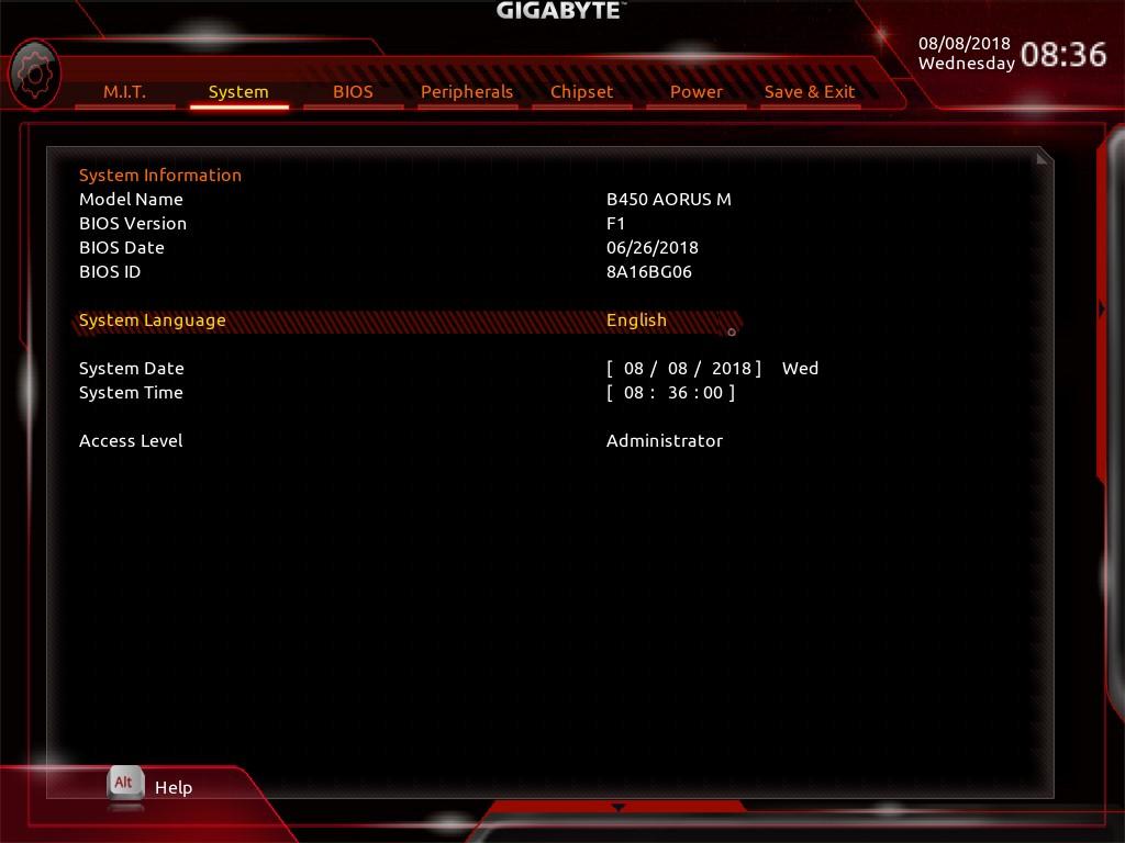 GIGABYTE B450 AORUS M + 라이젠 5 2400G(레이븐릿지) 오버클럭