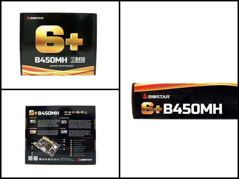 Biostar B450mh Specs