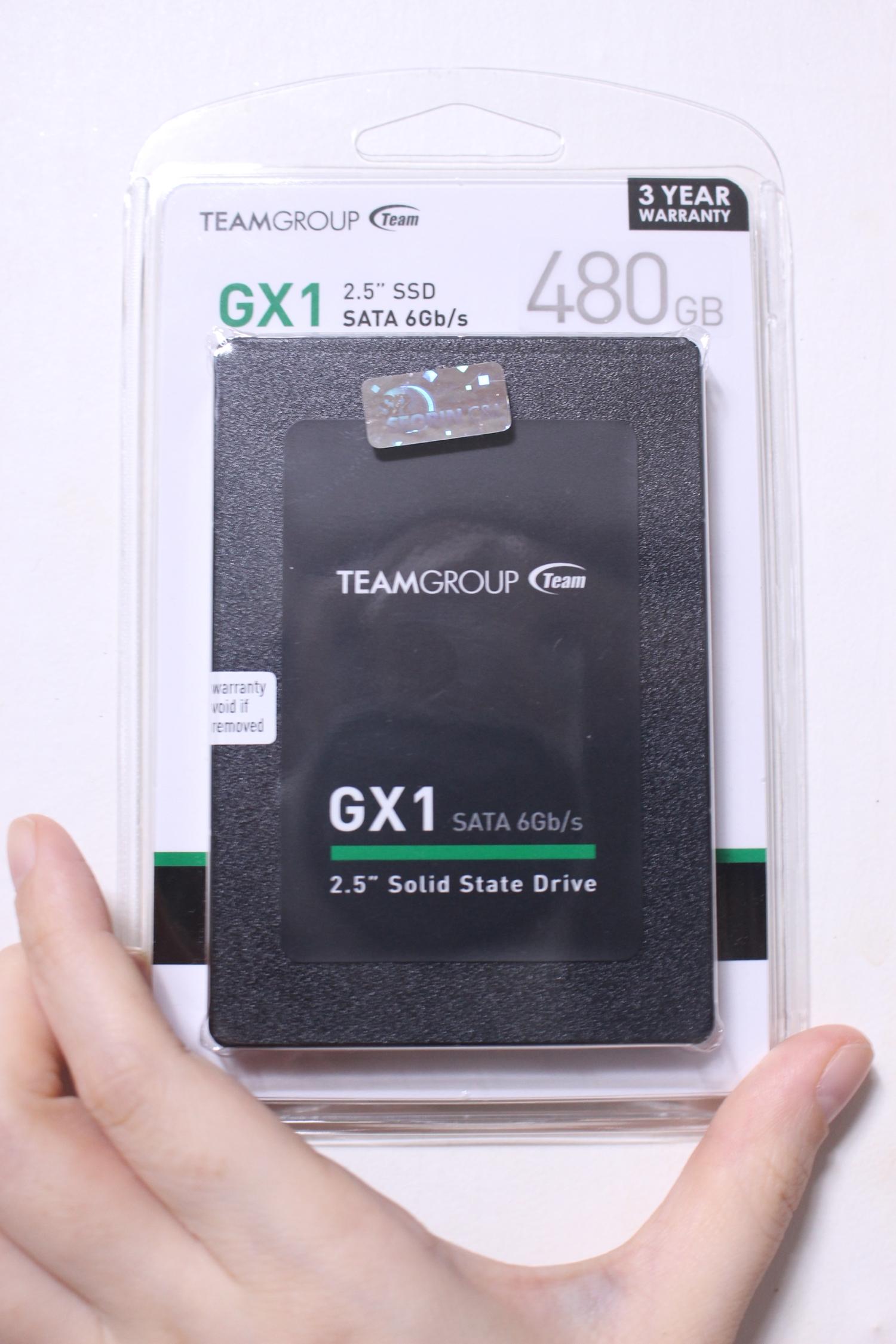 TeamGroup GX1 SSD 480GB 필드테스트