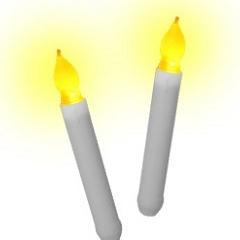 LED 촛불 4개
