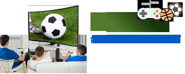 PC,게임기와 잘 어울리는 TV