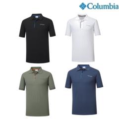 쾌적한 흡습속건! 컬럼비아 남성 폴로 티셔츠