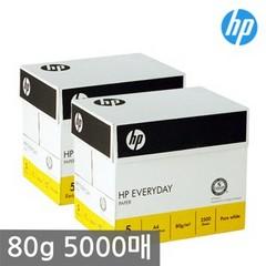 HP A4 복사용지 80g 2BOX