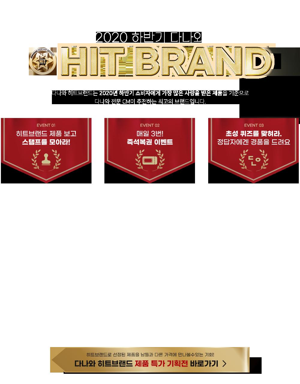 다나와 히트브랜드는 2020년 하반기 소비자에게 가장 많은 사랑을 받은 제품을 기준으로 다나와 전문 CM이 추천하는 최고의 브랜드입니다.