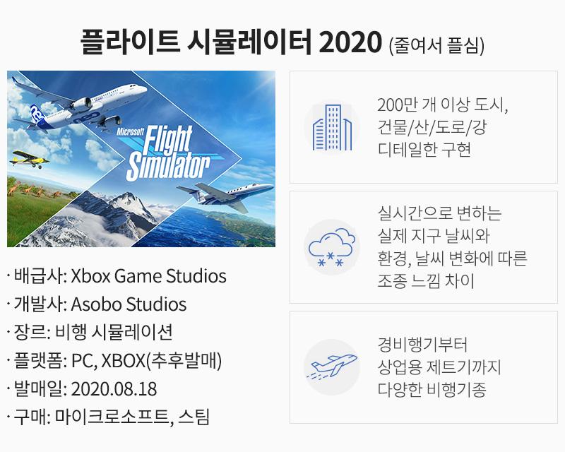 플라이트 시뮬레이터 2020