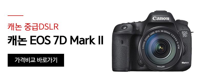 [캐논 중급DSLR] 캐논 EOS 7D Mark II