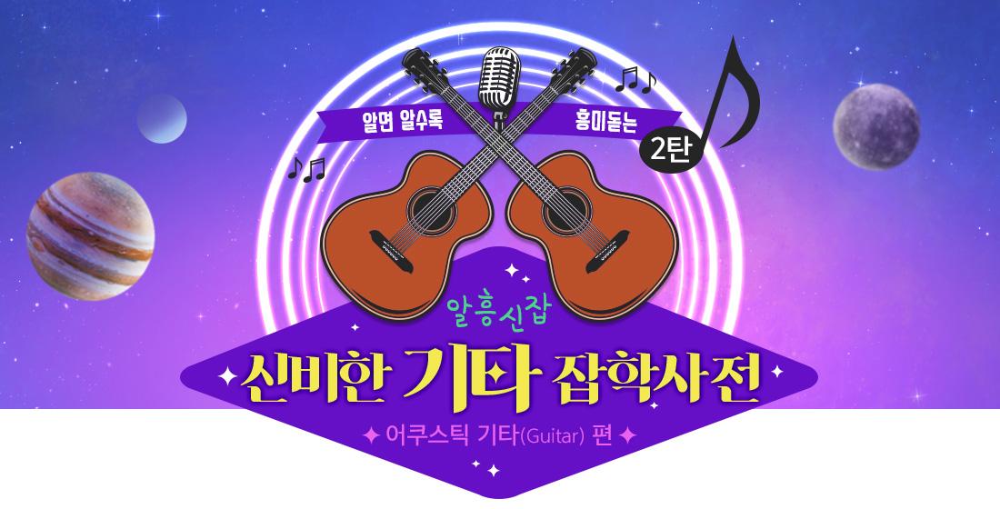 알흥신잡 신비한 기타 잡학사전 어쿠스틱 기타(Guitar) 편