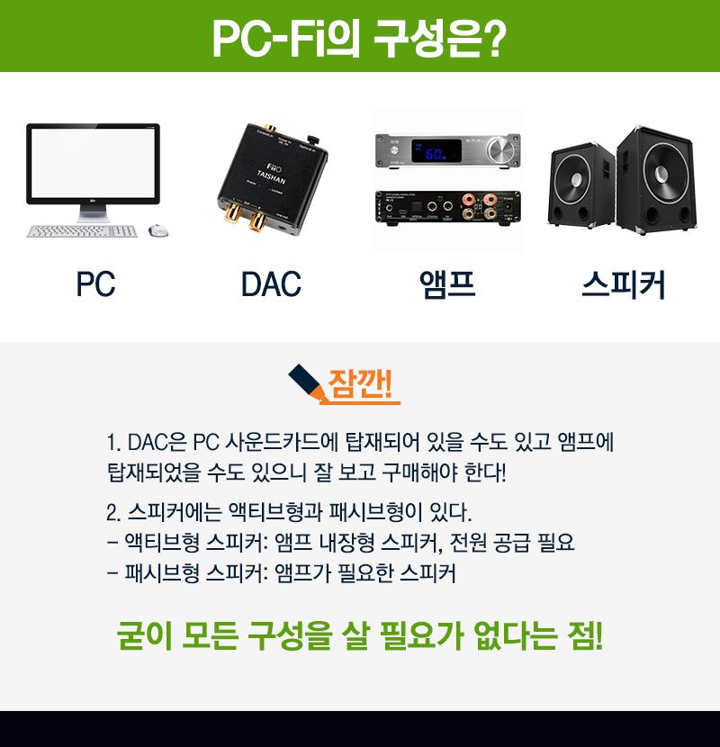 PC-Fi의 구성은?