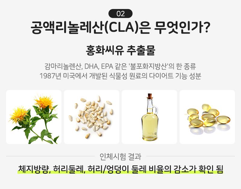 공액리놀레산(CLA)은 무엇인가?