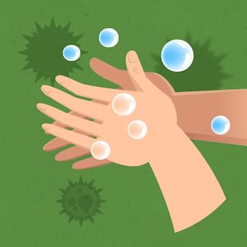 손만 씻어도 감염질환 70% 예방!