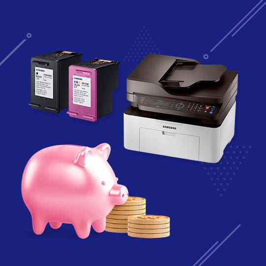 복합기/프린터 소모품 경제적으로 교체하자!