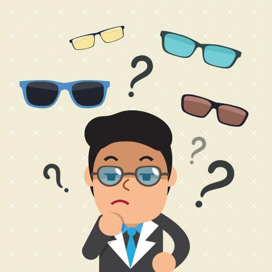주저하는 안경선배들을 위한 선글라스 안내서!