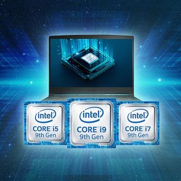 인텔 9세대 게이밍 노트북 인포그래픽