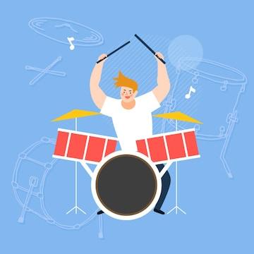 리듬따라 날아가는 스트레스~! 드럼용품의 모든 것