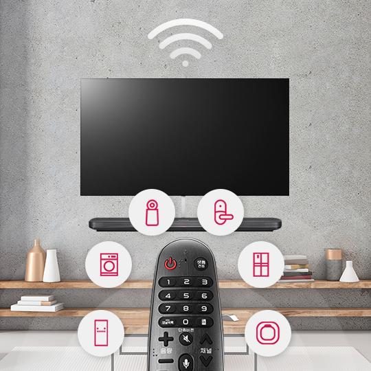 스마트 홈을 위한 스마트 TV!