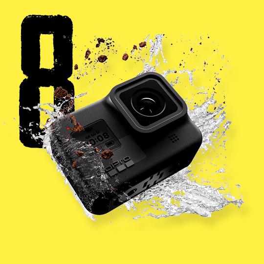 왕의 귀환! 액션캠 절대강자 고프로 히어로8 출시